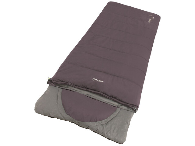 Outwell Contour Sleeping Bag, dark purple